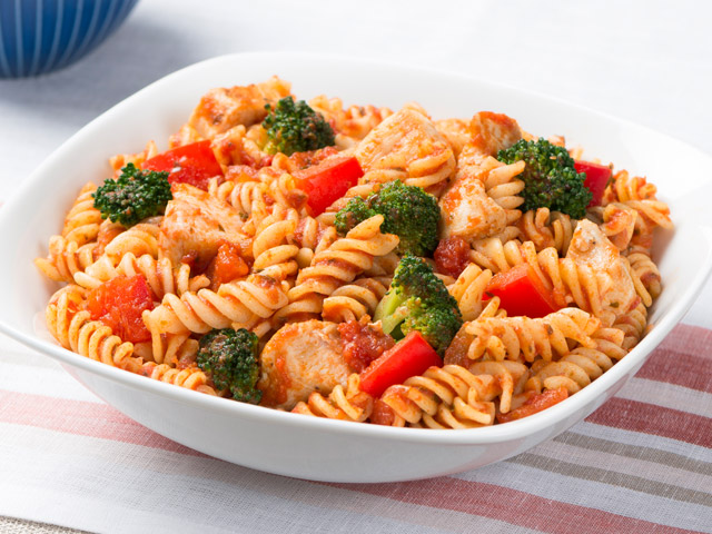 Fusilli with Chicken and Broccoli