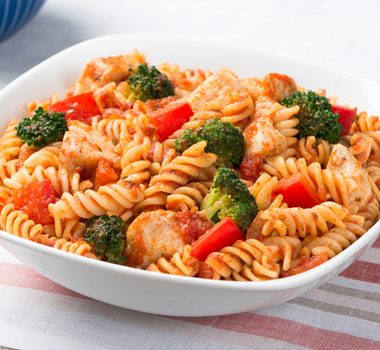 Gluten Free Fusilli with Chicken and Broccoli
